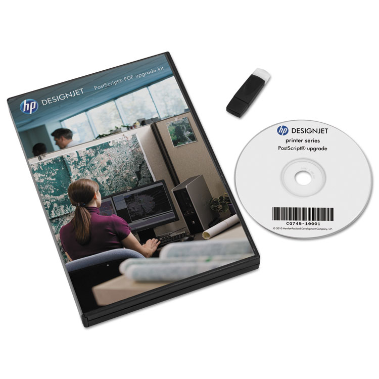 PostScript/PDF Upgrade Kit - ROM (page description language) - Adobe PostScript - for DesignJet T7100 T7200 Z6600 Z6610 Z6800 Z6810