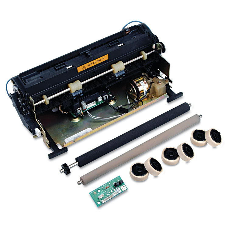 Fuser Maintenance Kit (110-120V) (Includes Transfer Roller Charge Roll Replacement Kit Fuser Assembly Pick Roll Assembly) (250000 Yield)