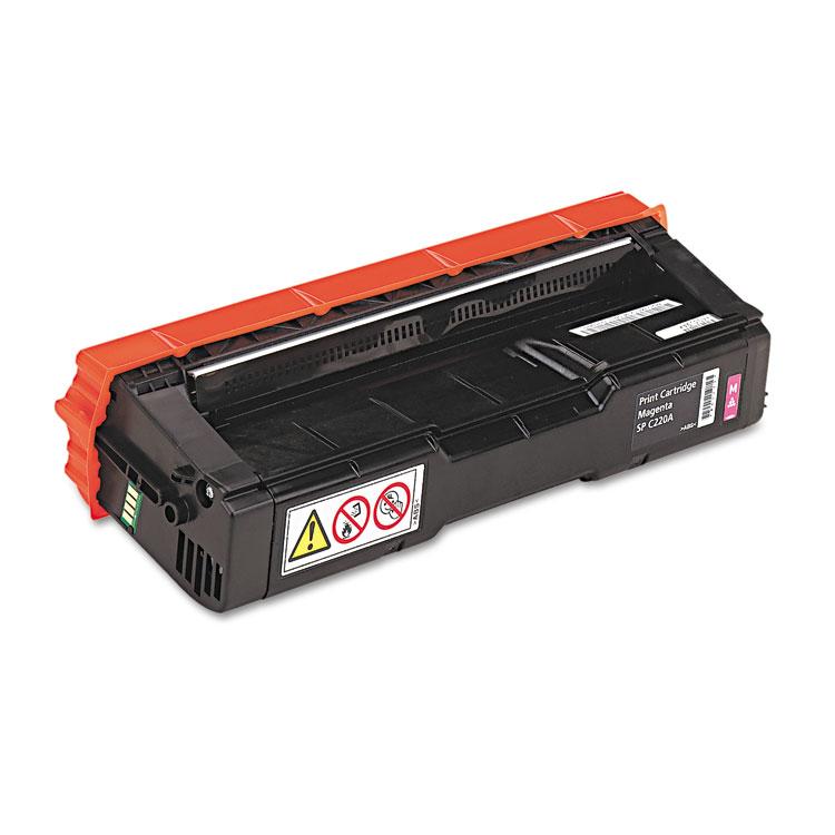 SP C220A - Magenta - original - toner cartridge - for Ricoh SP C220N SP C220S SP C221N SP C221SF SP C222DN SP C222SF SP C240SF