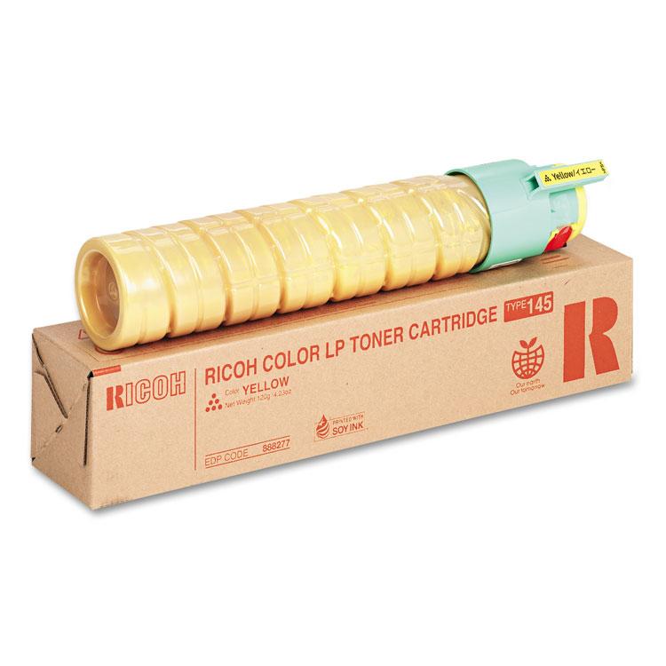 Type 145 - Short Yield - yellow - original - toner cartridge - for Gestetner SP C410 SP C411 NRG SP C411 SP C420 Rex Rotary SP C410 SP C411 SP C420