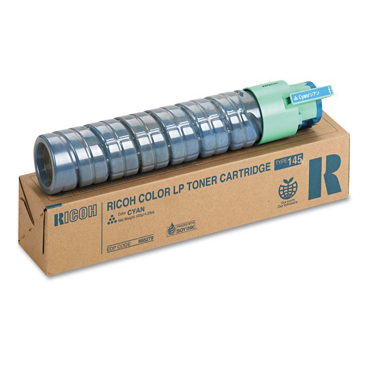Type 145 - Short Yield - cyan - original - toner cartridge - for Gestetner SP C410 SP C411 NRG SP C411 SP C420 Rex Rotary SP C410 SP C411 SP C420