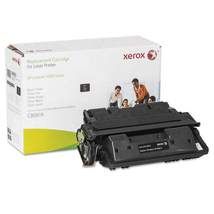 HP LaserJet 4100 - Black - toner cartridge (alternative for: HP 61X) - for HP LaserJet 4100 4100dtn 4100mfp 4100n 4100tn 4101mfp