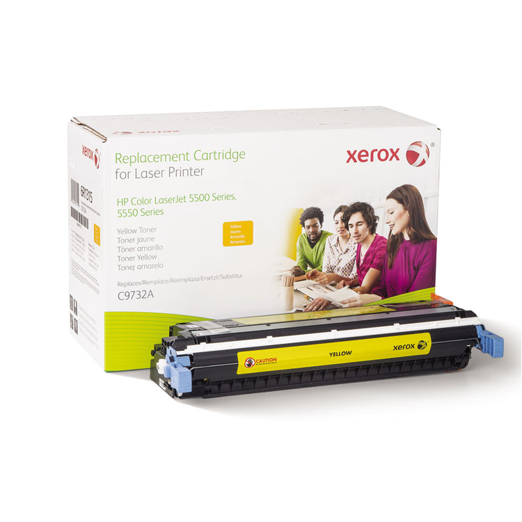 Yellow - toner cartridge (alternative for: HP C9732A) - for HP Color LaserJet 5500 5550