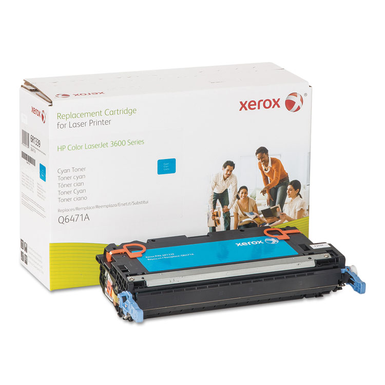 HP Colour LaserJet 3600 - Cyan - toner cartridge (alternative for: HP Q6471A) - for HP Color LaserJet 3600 3600dn 3600n