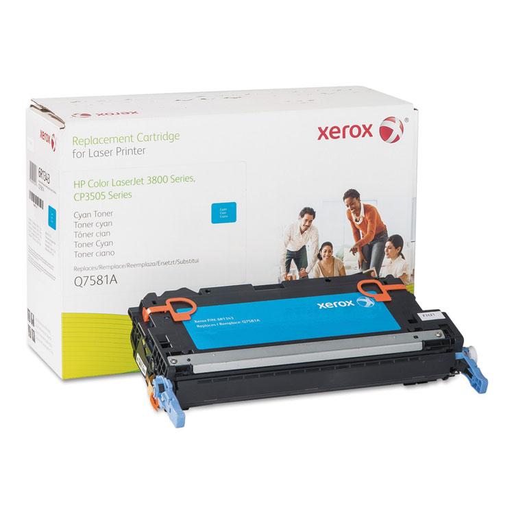 HP Colour LaserJet CP3505 - Cyan - toner cartridge (alternative for: HP Q7581A) - for HP Color LaserJet 3800 3800dn 3800dtn 3800n CP3505 CP3505dn CP3505n CP3505x