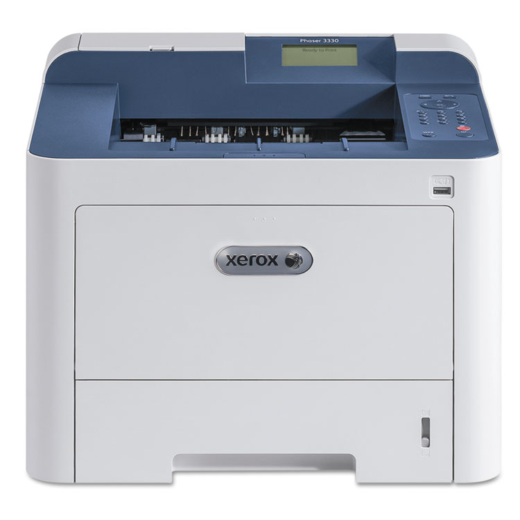 Phaser 3330DNI Mono Laser Printer (42 ppm) (512 MB) (8.5 x 14) (1200 x 1200 dpi) (Max Duty Cycle 80000 Pages) (Duplex) (USB) (Ethernet) (Wireless) (300 Sheet Input Cap)