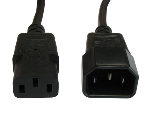 Powerware - Power extension cable - IEC 60320 C14 to IEC 60320 C13 - 10 ft