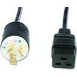 ePDU - Power cable (250 VAC) - NEMA L6-15 (M) - IEC 320 EN 60320 C19 - 8 ft