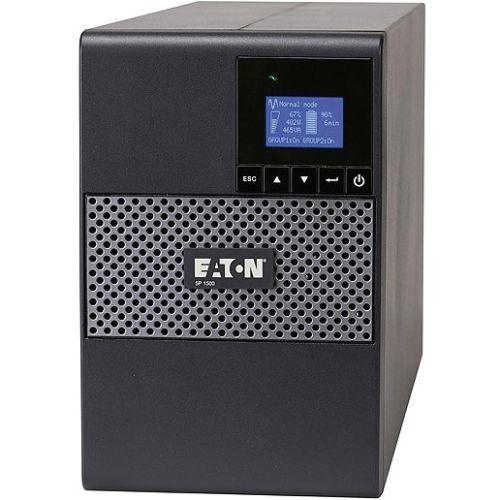 5P 850 Global Tower - UPS - AC 230 V - 600 Watt - 850 VA 7 Ah - RS-232, USB - output connectors: 6 - black, silver