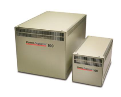 Power-Suppress 100 - Surge protector - AC 120 V - 1000 VA - output connectors: 2