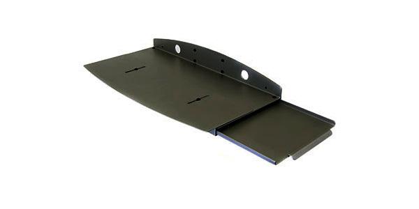 Keyboard drawer - black - for Ergotron 100 Series 200 Series 300 Series 400 Series