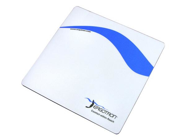 MOUSE PAD (BLUE AND WHITE) .THIS PAD IS PERFECTLY SIZED TO FIT MOUSE TRA
