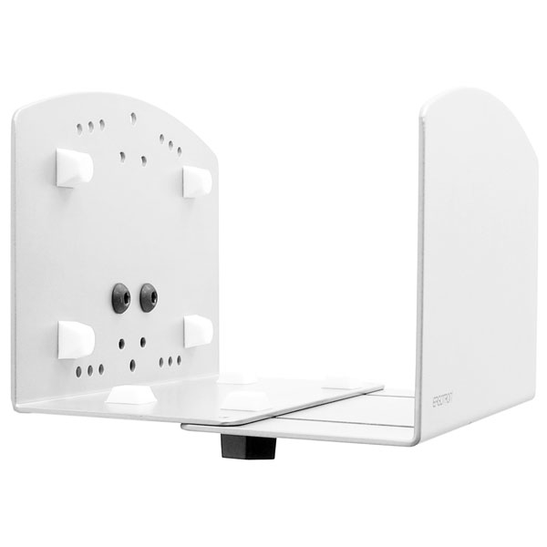 Vertical Universal CPU Holder - Mounting component (CPU holder) for personal computer - steel - white