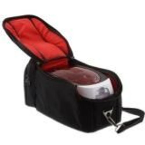 BADGY BLACK TRAVEL BAG WITH SHOULDER AND HAND STRAP