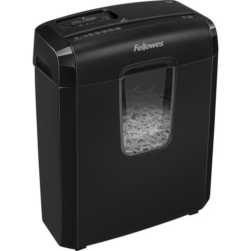 Powershred 6C Cross-Cut Shredder 120V - Shreds 6 sheets per pass into 0.156 x 1.375 cross-cut particles (Security Level P-4)