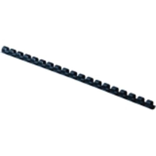 BINDING COMBS PLASTIC - NAVY 1/4IN 100PKDDS