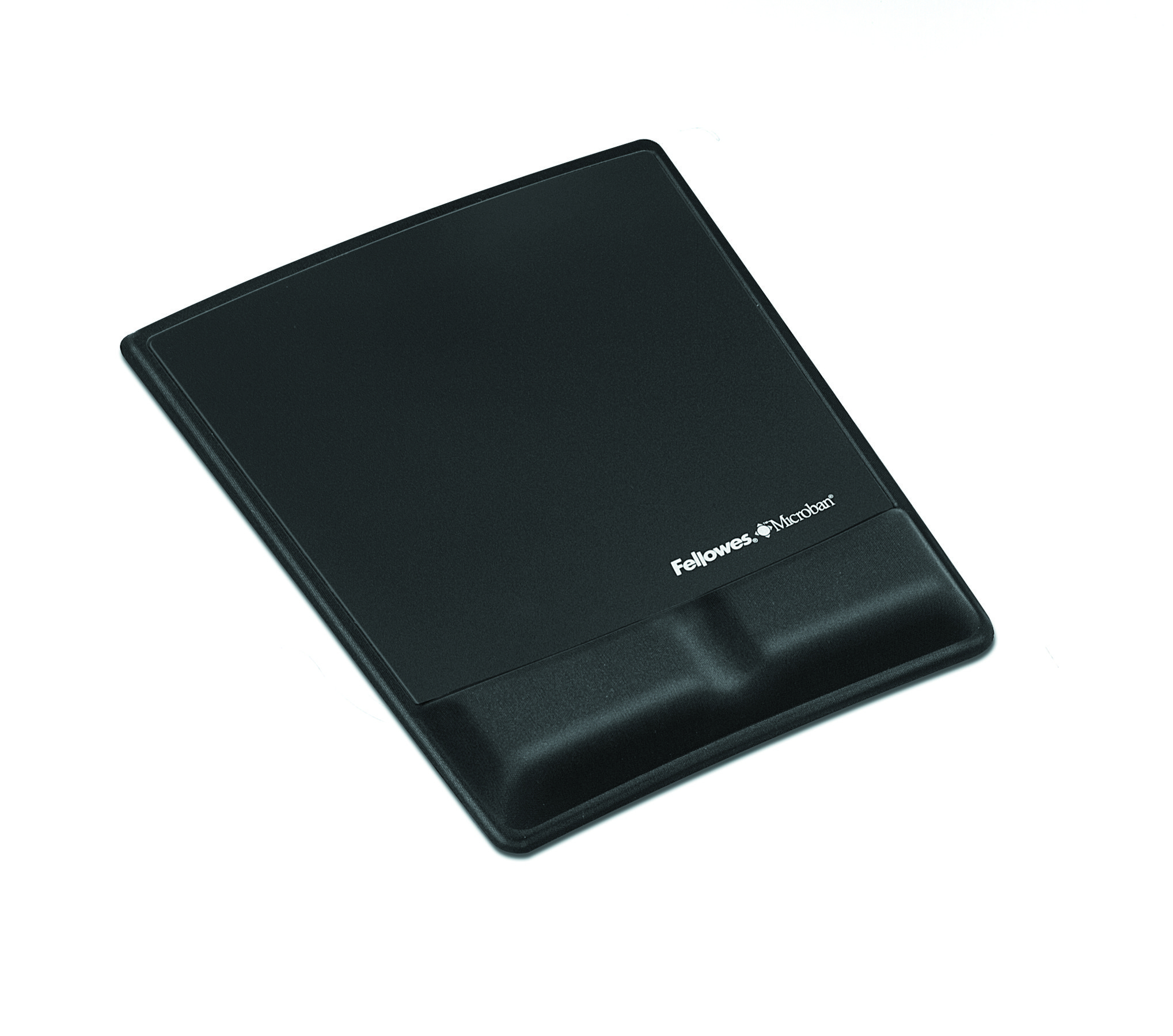 Mouse Pad / Wrist Support with Microban Protection - 9.9 inch x 8.3 inch x 0.9 inch Dimension - Black - Memory Foam Jersey