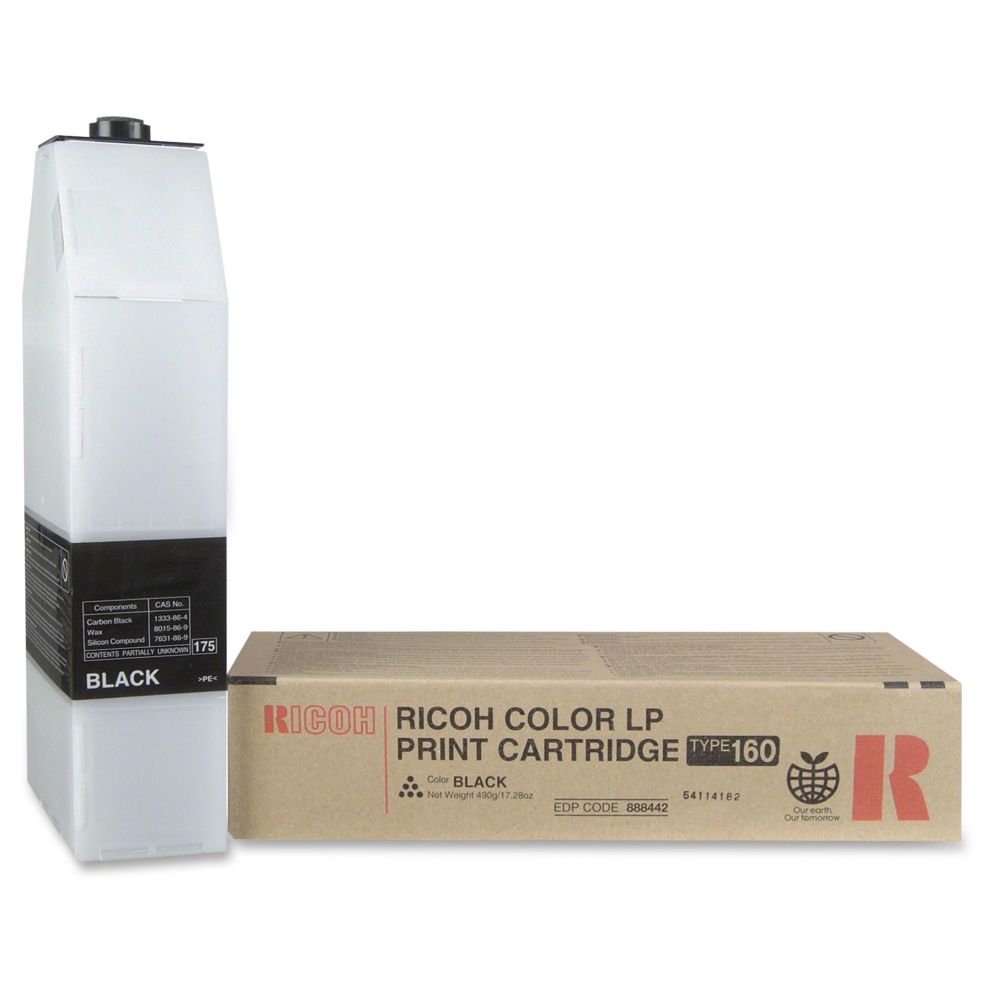 Black - original - toner cartridge - for Ricoh C7528n C7535hdn CL7200 CL7200 DT1 CL7200 DT2 CL7300 CL7300 DT1 CL7300 DT2