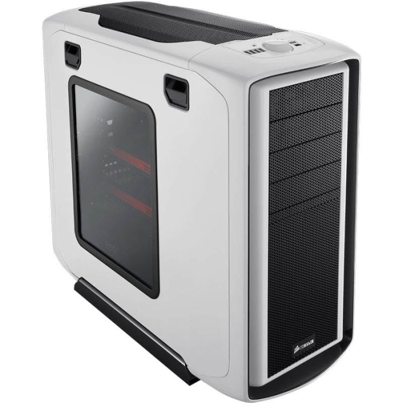 Graphite 600T White Chassis - Mid-tower - White - Steel Plastic - 10 x Bay - 3 x Fan