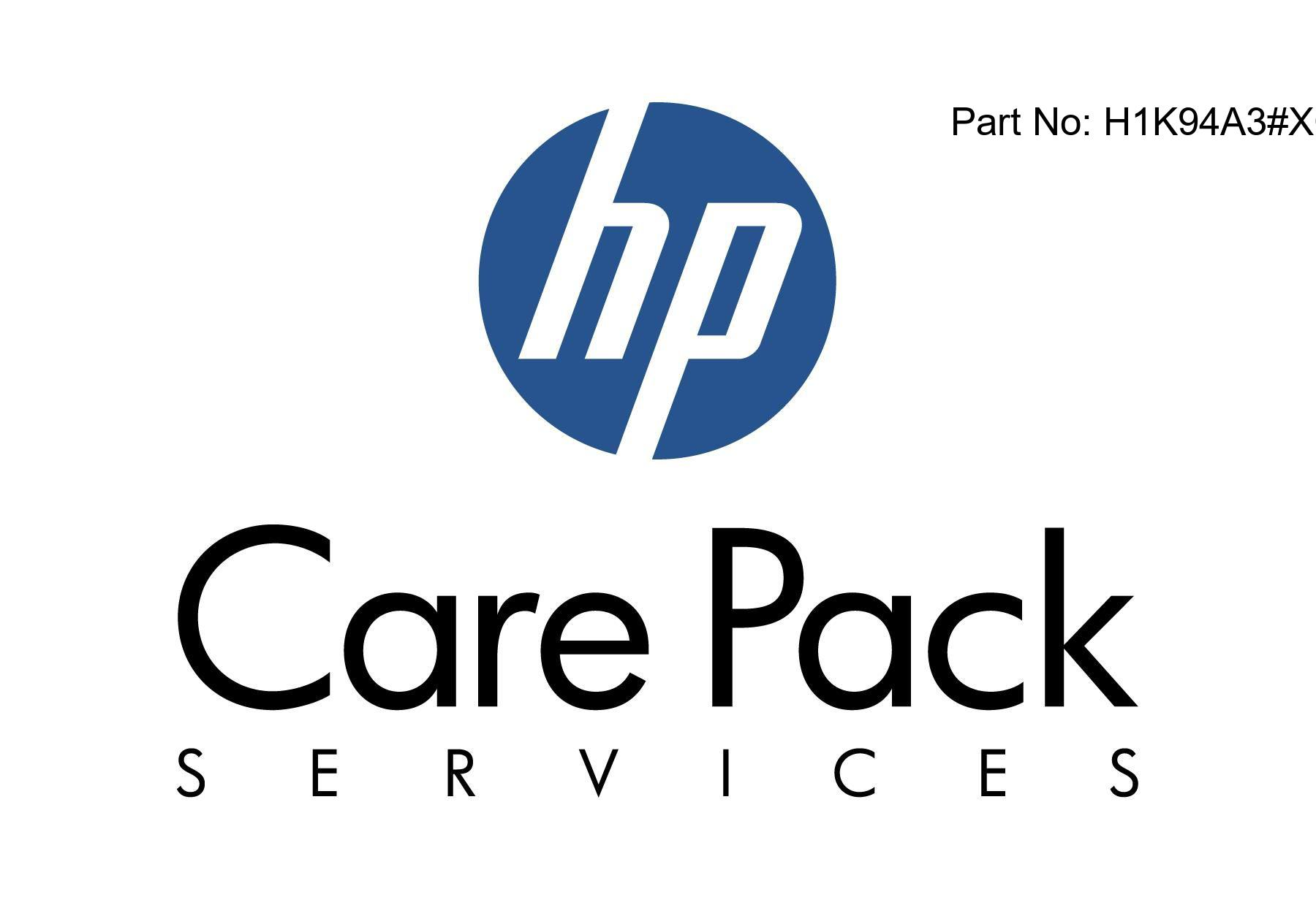 Proactive Care Call-To-Repair Service - Technical support - for HPE 3PAR 8400 Virtual Copy - 8 drives - phone consulting - 3 years - 24x7 - response time: 2 h