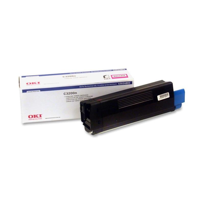 OKI Type C6 - Magenta - original - toner cartridge - for C3200 3200 Design 3200n