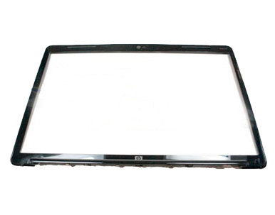 Display panel front bezel assembly - With web camera and microphone