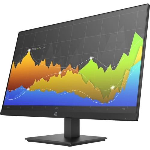 P274 - LED monitor - 27 inch (27 inch viewable) - 1920 x 1080 Full HD (1080p) - IPS - 250 cd/m2 - 1000:1 - 5 ms - HDMI VGA DisplayPort - black