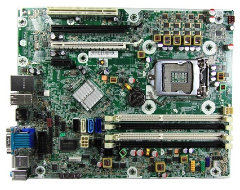 System board (motherboard) assembly (Bach)
