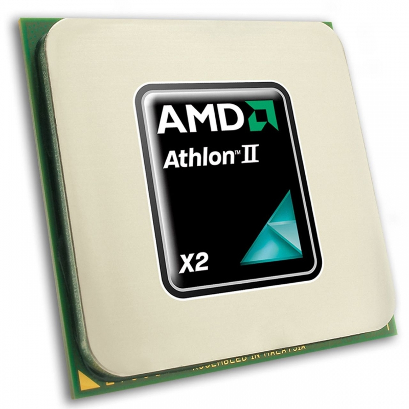 AMD Athlon II X2 265 dual core processor - 3.3GHz (2MB shared Level 2 cache 65W Socket AM3 65W TDP)