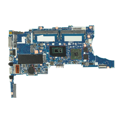 Motherboard (system board) - With Intel Core i7-6600U dual-core processor (2.6GHz 4MB Level-3 cache 15W TDP) and UMA graphics memory - For use in models WITHOUT WWAN and with Windows OS - image for replacement info