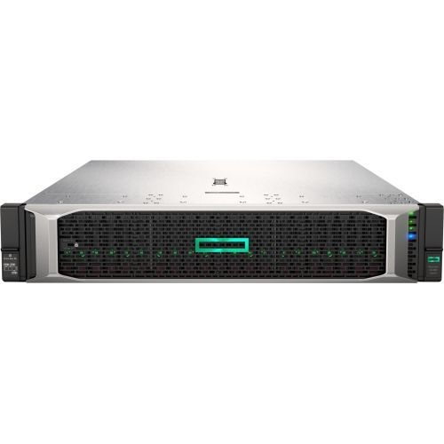 ProLiant DL380 Gen10 - Server - rack-mountable - 2U - 2-way - 1 x Xeon Gold 5115 / 2.4 GHz - RAM 16 GB - SAS - hot-swap 2.5 inch - no HDD - GigE - monitor: none - HPE Smart Buy