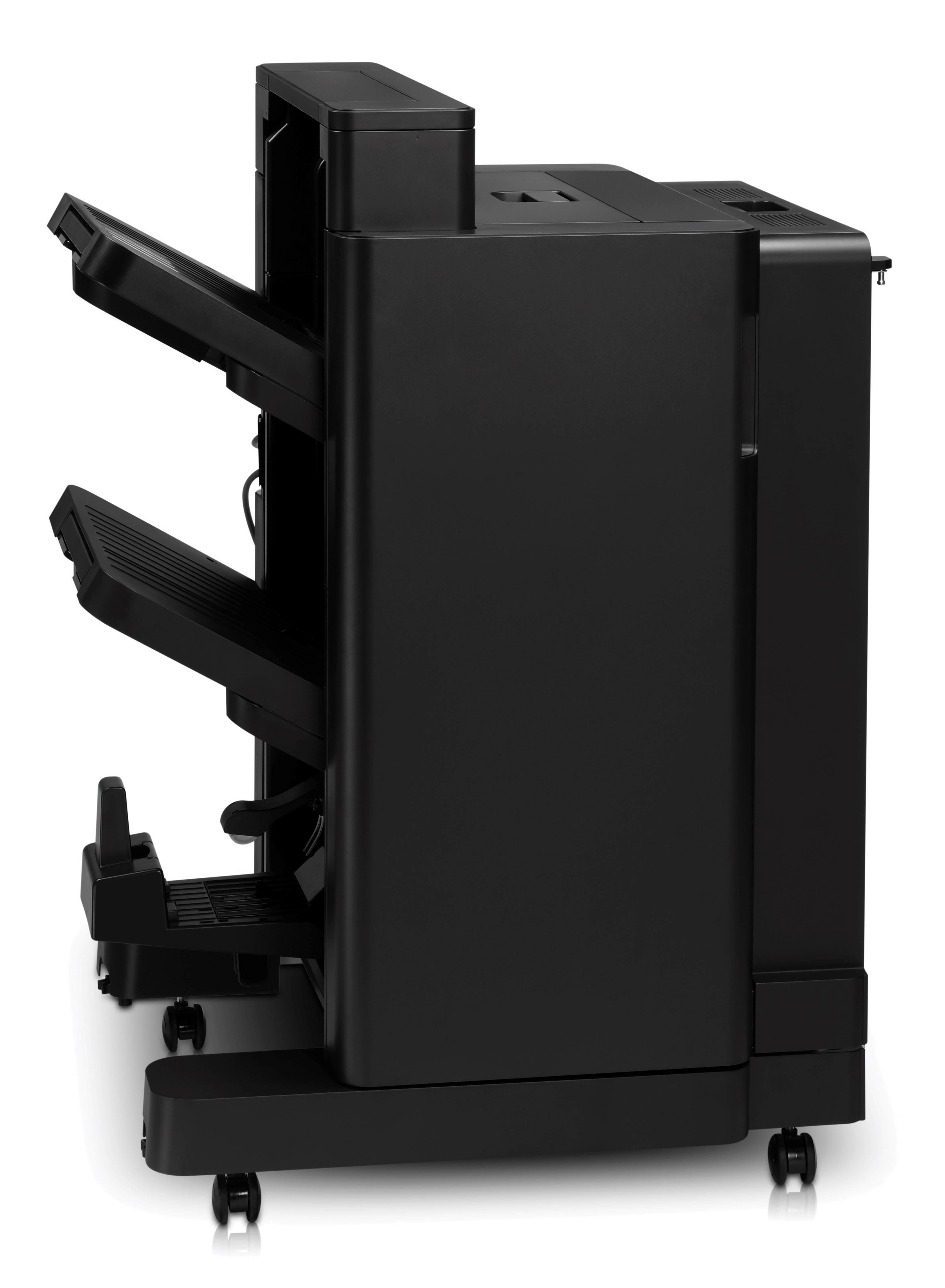 Finisher - for LaserJet Enterprise Flow MFP M830 LaserJet Managed Flow MFP M830