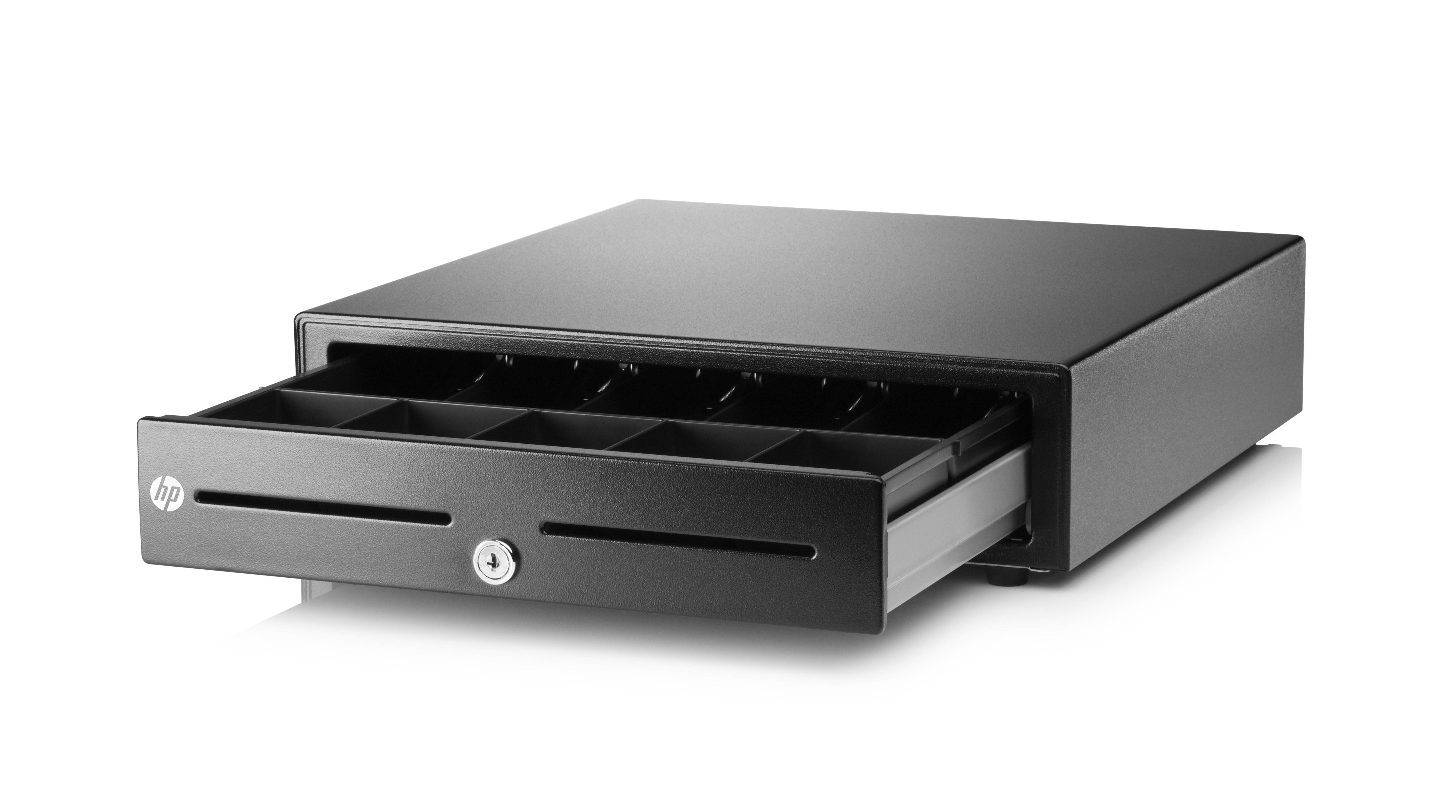 Standard Duty Cash Drawer - Electronic cash drawer - black - for ElitePOS G1 Retail System Engage One 14X MX12 RP9 G1 Retail System TX1 POS Solution