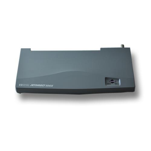 JetDirect 500X - Print server - parallel - 100Mb LAN - 10Base-2 (coax)  100Base-TX - 3 ports for HP LaserJet 11XX 3200 Officejet g85 R40 R60 R80 Officejet Pro 11XX