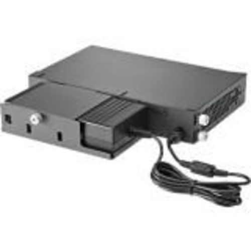 2530 8-port switch series power adapter shelf (half-width switches) - For attaching the external AC power adapter to the rear of the switch