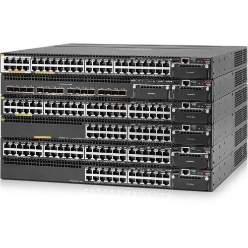 Aruba 3810M 48G PoE+ 4SFP+ 1050W - Switch - L3 - managed - 48 x 10/100/1000 (PoE+) - rack-mountable - PoE+ - DC power -