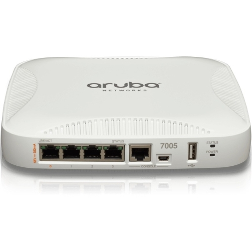 Aruba 7005 (US) Controller - Network management device - GigE - DC power