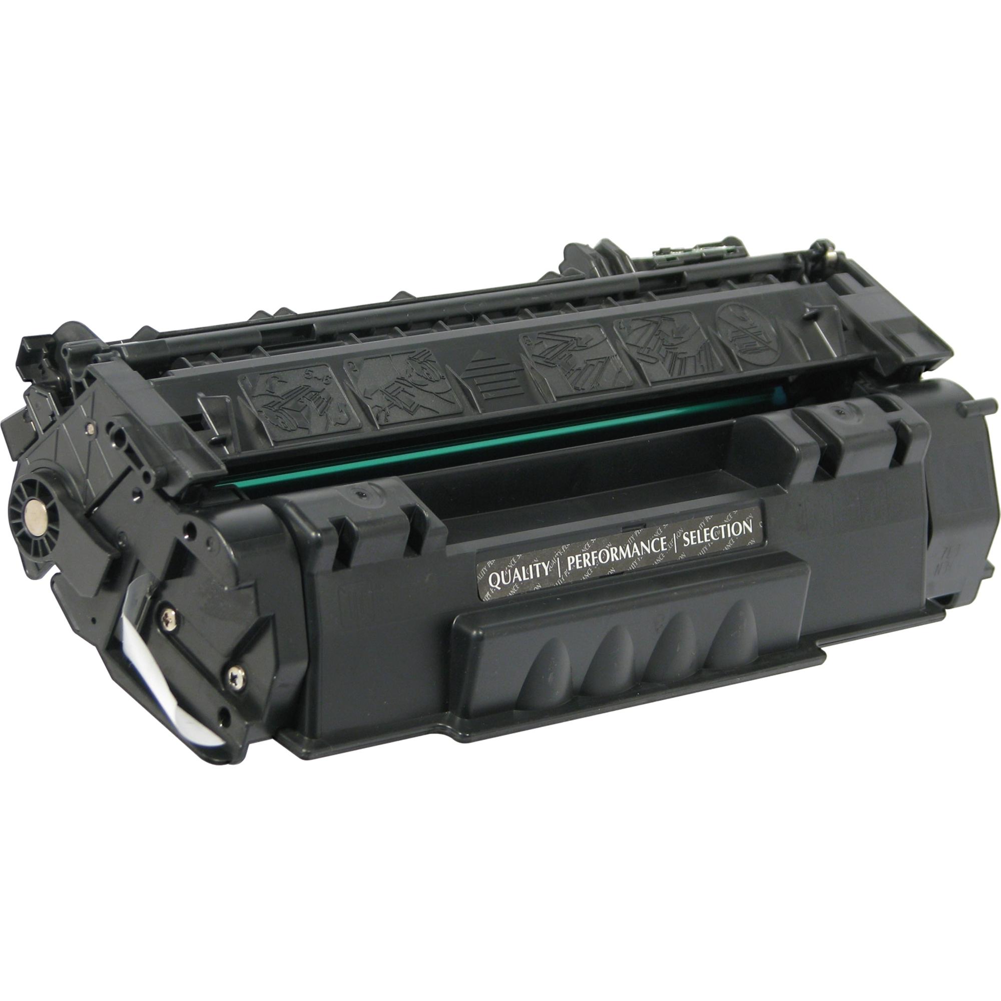 Black Toner Cartridge for HP LaserJet 1160 - Laser - 2500 Page