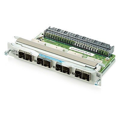 4-port Stacking Module Assembly - Accessory for the E3800 series of switches - For use in stacking up to 10 switches together to form a single extended virtual switch