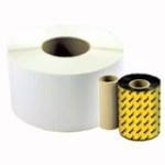 Thermal Transfer Quad Pack - 1 in x 1.25 in 9200 pcs. (4 roll(s) x 2300) labels - for Wasp WPL308