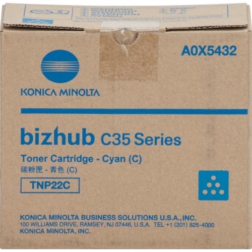 bizhub C35 C35P Cyan Toner Cartridge (4600 Yield)