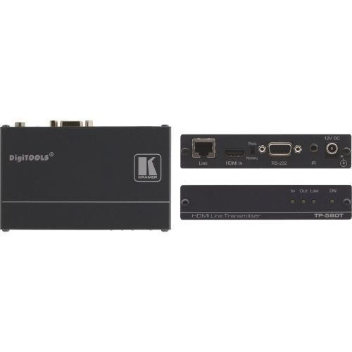 DigiTOOLS - Video/audio/infrared/serial extender - up to 230 ft - 1U