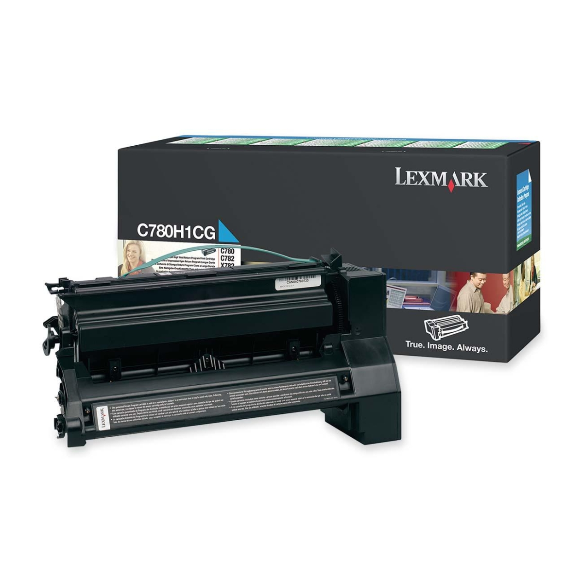Extra High Yield - cyan - original - toner cartridge LCCP - for Lexmark C782dn C782dtn C782n X782e X782e MFP X782e Page Plus Solution