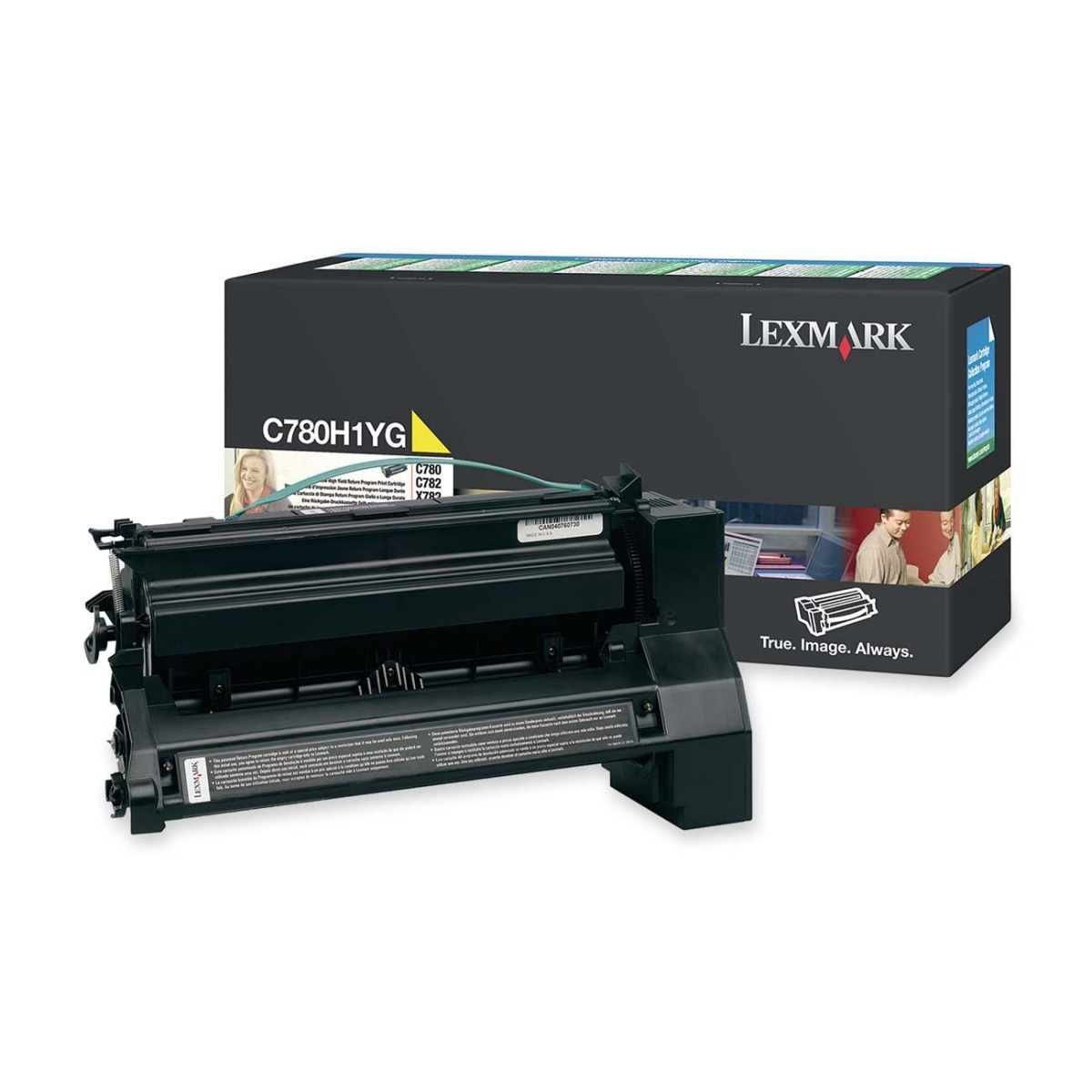 Extra High Yield - yellow - original - toner cartridge LCCP - for Lexmark C782dn C782dtn C782n X782e X782e MFP X782e Page Plus Solution