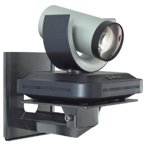 WALL MNT CAMERA SHELF BLK VIDEO CONFERENCING TELEPRESENCE DUAL