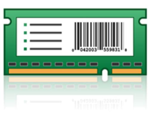 Bar Code Card and Forms Card - ROM - barcode forms - for Lexmark C2132 CS510de CS510dte CS517de
