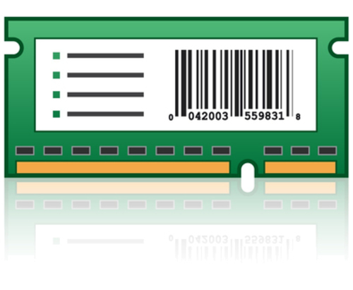 Bar Code Card and Forms Card - ROM - bar code forms - for Lexmark MS810de