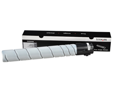 540H - High Yield - black - original - toner cartridge LCCP - for Lexmark MS911de