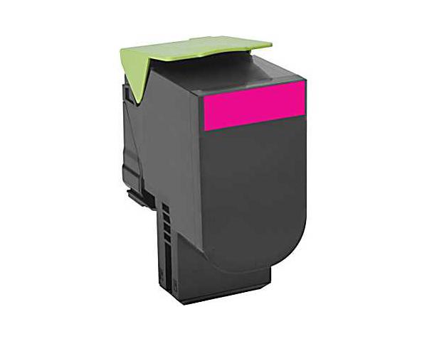 Magenta - original - toner cartridge LRP government GSA - for Lexmark CX310dn CX310n CX410de CX410dte CX410e CX510de CX510dhe CX510dthe