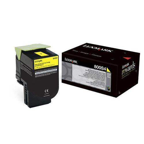 Unison 800S4 Toner Cartridge - Yellow - Laser - Standard Yield - 2000 Page Yellow - 1 / Pack - OEM
